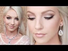 bridal makeup tutorial makeup eye middot beach wedding tutorial natural glamorous