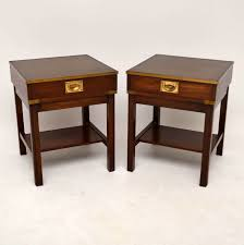 mahogany coffee table. Full Size Of Coffee Table:pair Antique Campaign Style Mahogany Side Tables Marylebonee Table W
