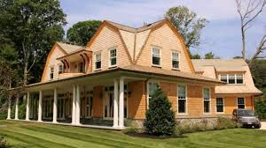 Exterior Design Inspiring Wooden House With Gambrel Roof IdeasGambrel Roof Plans