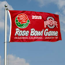 college flags and banners co outdoor flags ohio state buckeyes 2019 rose bowl game garden flag