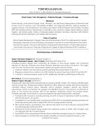 Sample Resume Of Supply Chain Manager Supply Chain Analyst Sample Resume Shalomhouseus 18