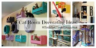 cat room ideas for making unique cat trees play areas
