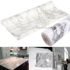 self adhesive vinyl roll grey marble contact paper counter top cabinet wrap