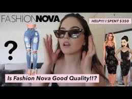 Fashion Nova Australian Sizing Guide Unboxing Honest Review