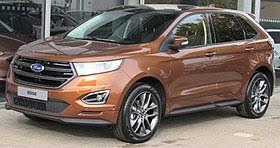 2019 Ford Edge Color Chart Ford Edge Wikipedia