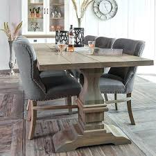 grey oak dining table oak dining table in kitchen and chairs inspiring remodel regarding grey wood