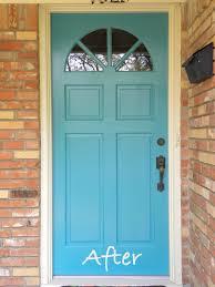 turquoise front doorLa Maison Boheme My Front Door