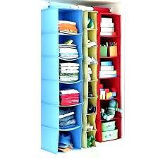 hanging closet organizers canvas shelves storage organizer cloth 5