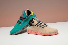 adidas pharrell. unreleased adidas originals pw tennis hu colorways pharrell williams green grey black yellow beige pink orange