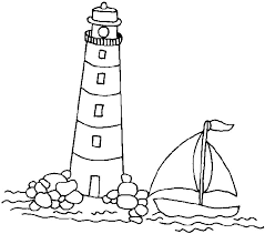 Small Picture lighthouse coloring page printable lighthouse coloring pages