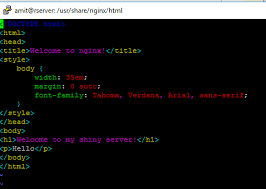 nginx index.html does not update after modification - Stack Overflow