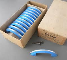 Antique Blue Catalin Plastic Cabinet Pull