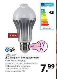 Livarno Lux Led Lamp Met Bewegingssensor Aanbieding Bij Lidl