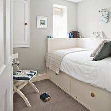 bedroom design uk. Simple Design Woodland Print Bedroom With White Wood Panelling  Small Design  Ideas Housetohomeco Uk
