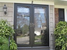 pella double storm doors for entrance