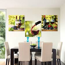 qkart 3 pieces canvas art wall art pictures red wine photography painting for dining room home on wine and dine canvas wall art with qkart 3 pieces canvas art wall art pictures red wine photography