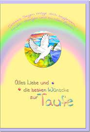Taufkarten Grußkarten Taufe Regenbogen Geschenkideen Und Karten