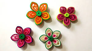 How To Make A Beautiful Flower With Paper How To Make Beautiful Flower Using Paper Art Quilling Flowers Healthy