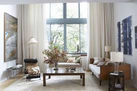 apt furniture small space living. Living Room Small Apartment Layout Rectangular Dark Brown Wooden Table Round Black Leather Excellent Arrangement Furniture Apt Space