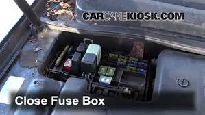 replace a fuse 1997 1999 acura cl 1999 acura cl premium 3 0l v6 6 replace cover secure the cover and test component