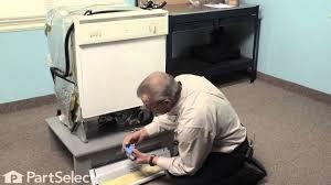 dishwasher repair replacing the water inlet valve whirlpool part dishwasher repair replacing the water inlet valve whirlpool part 99001359