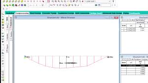 Small Picture Analysis and Design of concrete beam in STAADPro V8i SS5 STAAD