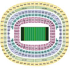 Fedex Field Club Level Seating Chart Breakdown Of The Fedex Field Seating Chart Washington Redskins