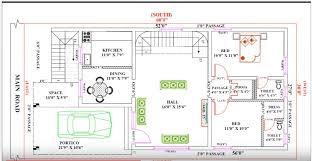 30 feet by 60 single floor modern home plan according to vastu shastra acha homes