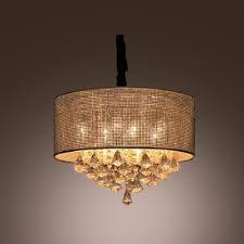 crystal diamond drops cered round crystal beads embedded shade large pendant light