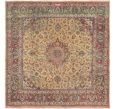 9 6 x 10 mashad persian square rug