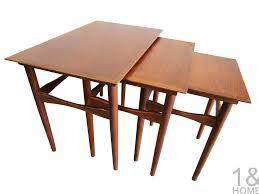denver colorado industrial furniture modern. Poul Hundevad For Fabian Danish Modern Nesting Tables Denver Colorado Industrial Furniture
