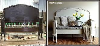 diy furniture making headboard to bench diy patio furniture makeover