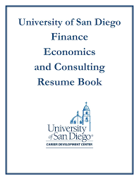 University Of San Diego Class Of 2018 Finance Related Consulting
