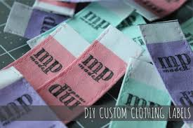 Diy Clothing Label Diy Custom Clothing Labels