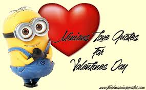 Cute Minions Love Quotes For Valentines Day Freshmorningquotes Cool Cute Valentines Day Quotes
