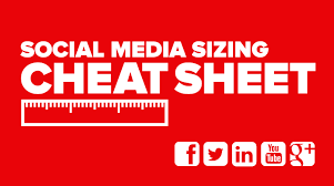 best picture size for facebook social media image size cheat sheet flint group