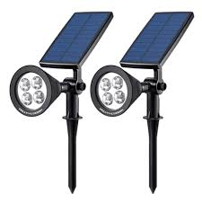 make certain that you have the illumination you need around your home with the upgraded solar panels and batteries included with the solar panel light kit