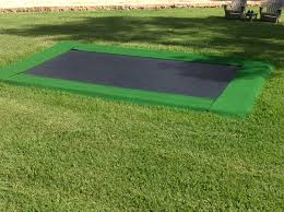 in ground trampoline. Rectangle In Ground Trampoline N