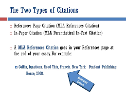 How To Insert In Text Citations Ppt Download