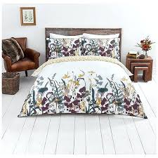 sainsburys duvet close image for home woodland walk crop print bed linen from sainsburys king size