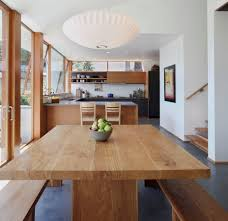 Modern Wood Kitchen Table Ideas Contemporary Dining Room Love The