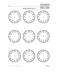 Clock Face Template Word Pepino Co