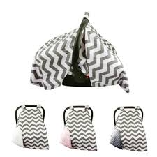 newborn girls boys soft car seat cover