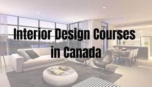 interior design courses in canada top