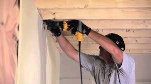 how to hang sheet rock how to install drywall sheetrock cgc inc youtube