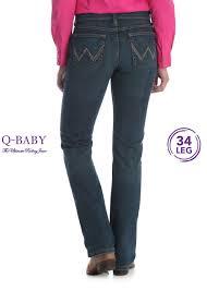 Womens Ultimate Riding Jean 34 Leg Q Baby Wrangler