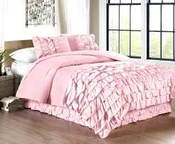 solid pink comforters solid pink comforter ruffle solid pink twin bedding