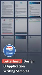 A letterhead, or letterheaded paper, is the heading at the top of a sheet of letter paper (stationery). Letterhead Design Application Writing Samples