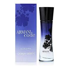 Amazon.com : <b>Giorgio Armani Code Femme</b> Eau De Parfum Spray ...