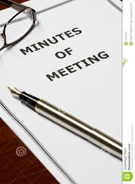 munites of meeting minutes of meeting stock photo image of office legal 10143310
